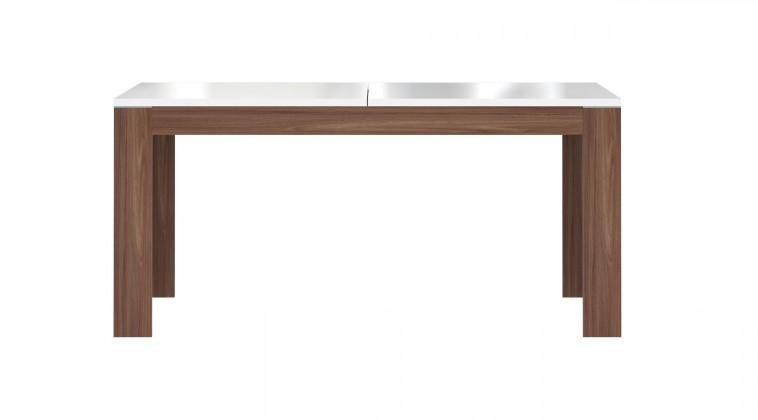 Jídelní stůl Saint Tropez XELT16 (dub sangalo/bílý lesk)