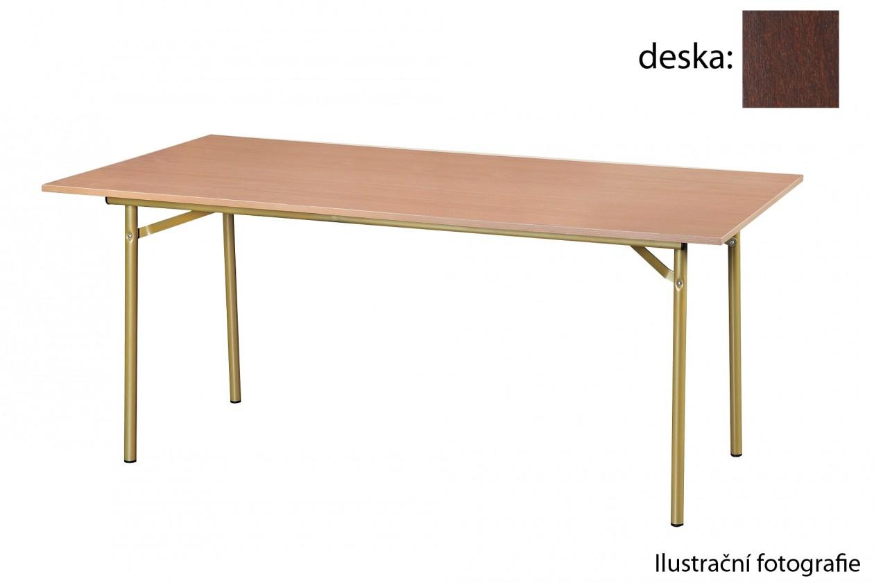 Jídelní stůl Salsa-180x100(ořech tmavý)