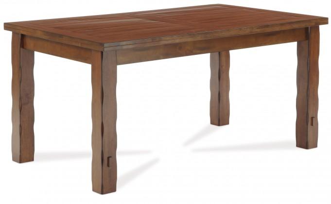 Jídelní stůl TALASANI(kaučukovník, moření retro třešeň)