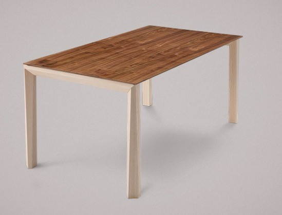 Jídelní stůl Universe-130 - Jídelní stůl (jasan, ořech)