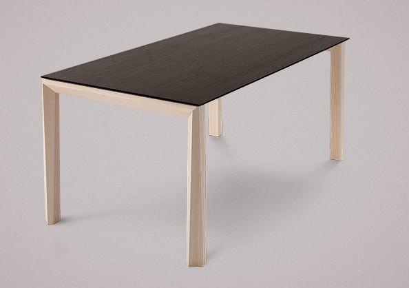 Jídelní stůl Universe-130 - Jídelní stůl (jasan, wenge)
