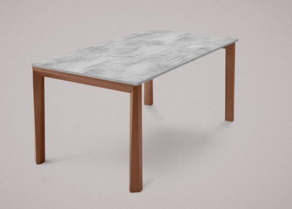 Jídelní stůl Universe-130 - Jídelní stůl (ořech, lamino cement)