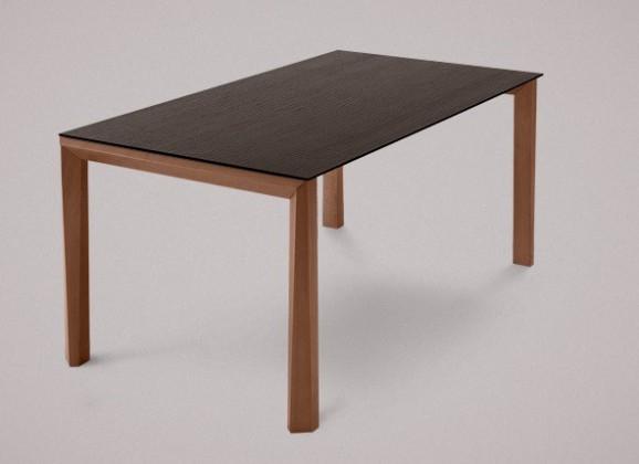 Jídelní stůl Universe-130 - Jídelní stůl (ořech, wenge)