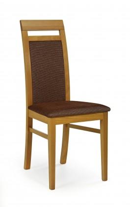 Jídelní židle Albert - jídelní židle (torrent hnědá, olše)