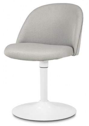 Jídelní židle ALLY 9368-207+TRUMPET 9341-801 (sv.šedá,bílá)