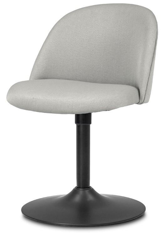 Jídelní židle ALLY 9368-207+TRUMPET 9341-824 (sv.šedá,černá)