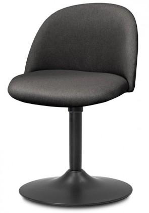 Jídelní židle ALLY 9368-215+TRUMPET 9341-824 (antracit,černá)