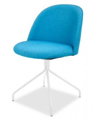 Jídelní židle ALLY 9368-220+EGO 9319-801 (tyrkys,bílá)