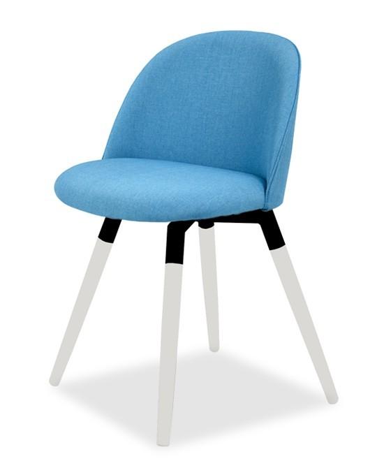 Jídelní židle ALLY 9368-220+FIDO 9315-101 (tyrkys,bílá,černá)