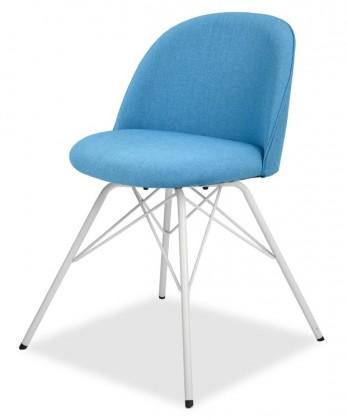 Jídelní židle ALLY 9368-220+PORGY 9346-801 (tyrkys,bílá)