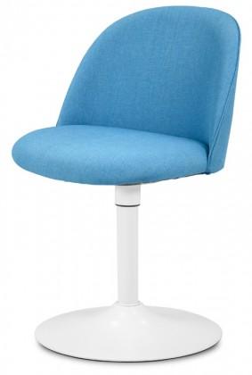 Jídelní židle ALLY 9368-220+TRUMPET 9341-801 (tyrkys,bílá)