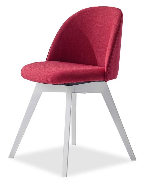 Jídelní židle ALLY 9368-228+BESS 9347-001 (červená,bílá)