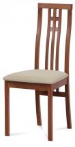 Jídelní židle Alora béžová, třešeň