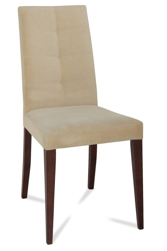 Jídelní židle Barta (jasan/látka carabu šedobéžová)