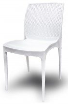 Jídelní židle Boheme (bianco) - II. jakost