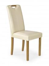 Jídelní židle Caro (krémová, buk)