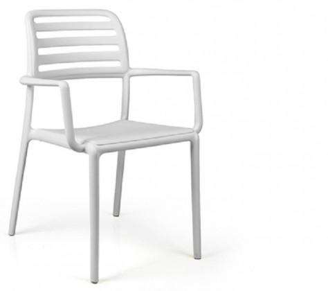 Jídelní židle Costa křesílko(bianco)