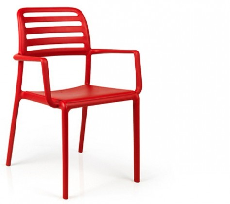 Jídelní židle Costa křesílko(rosso)