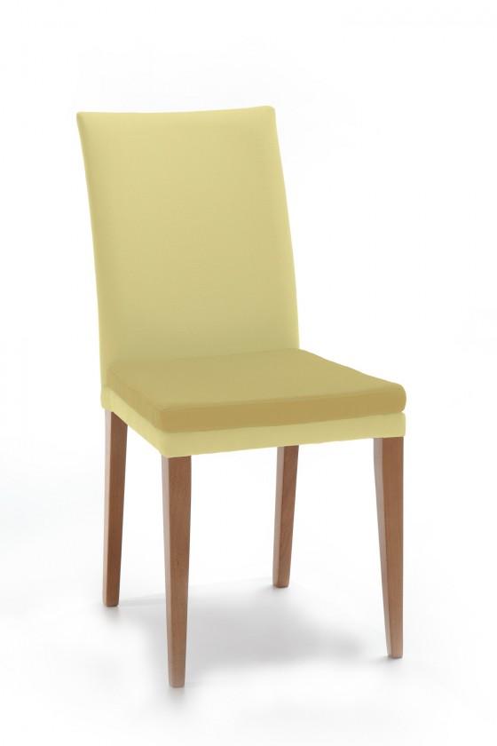 Jídelní židle Crista (dub/látka carabu světle béžová/sedák béžová)