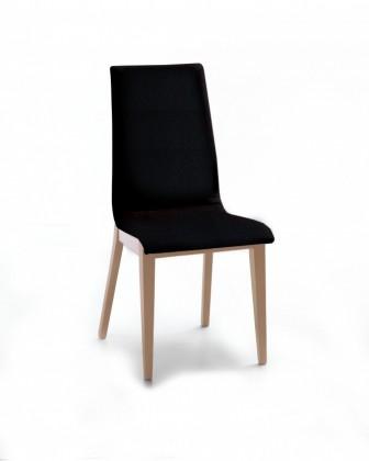 Jídelní židle Cruz (dub / eko kůže vienna černá)