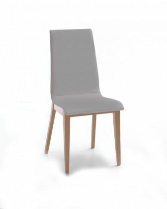 Jídelní židle Cruz (dub / látka carabu šedá)