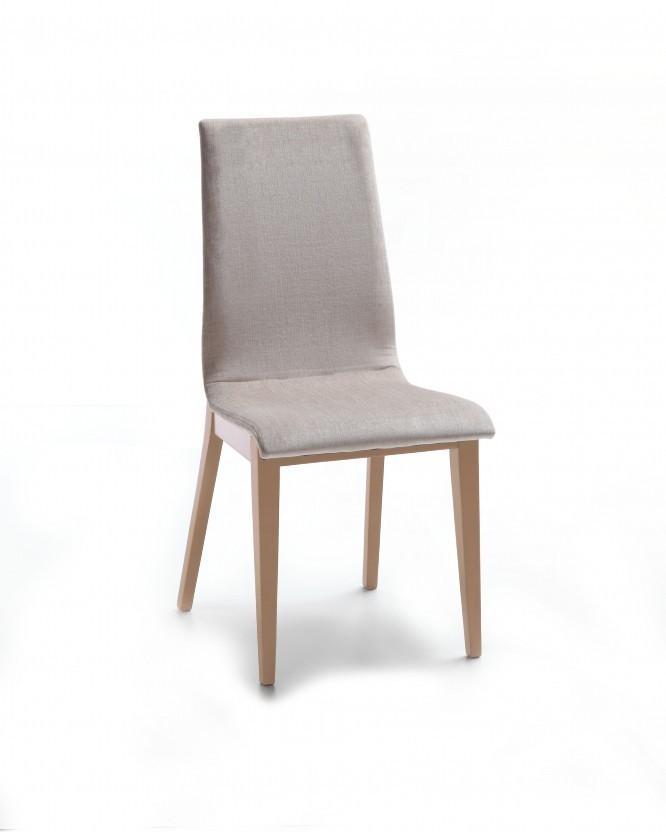 Jídelní židle Cruz (dub / látka orion světle hnědá)