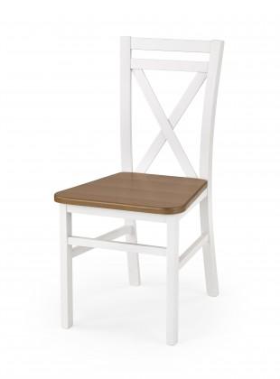 Jídelní židle Dariusz 2 - Jídelní židle (bílá, olše)