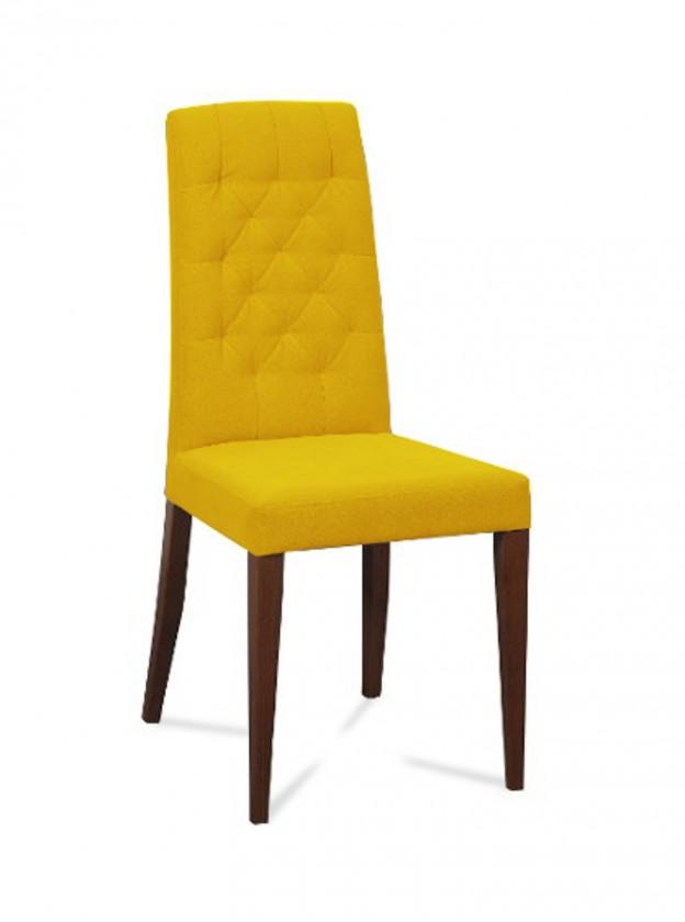Jídelní židle Dariva (jasan/látka navara hořčicová)