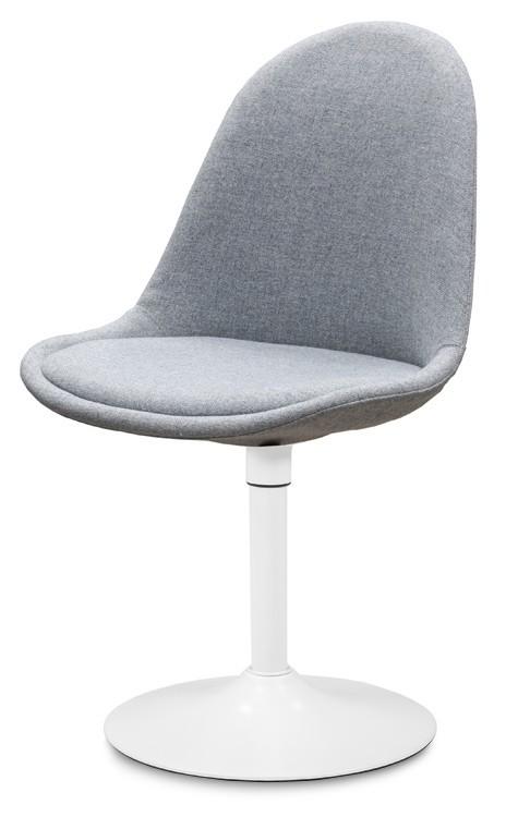 Jídelní židle Donna 9363-213+TRUMPET 9341-801 (šedá,bílá)