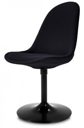 Jídelní židle Donna 9363-224+TRUMPET 9341-824 (černá,černá)