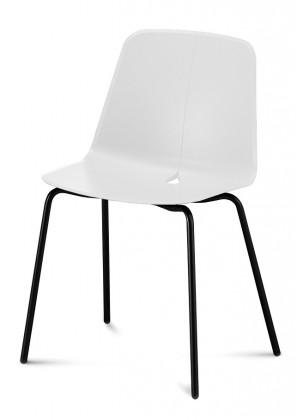 Jídelní židle Dot-M - Jídelní židle (černá, bílá)