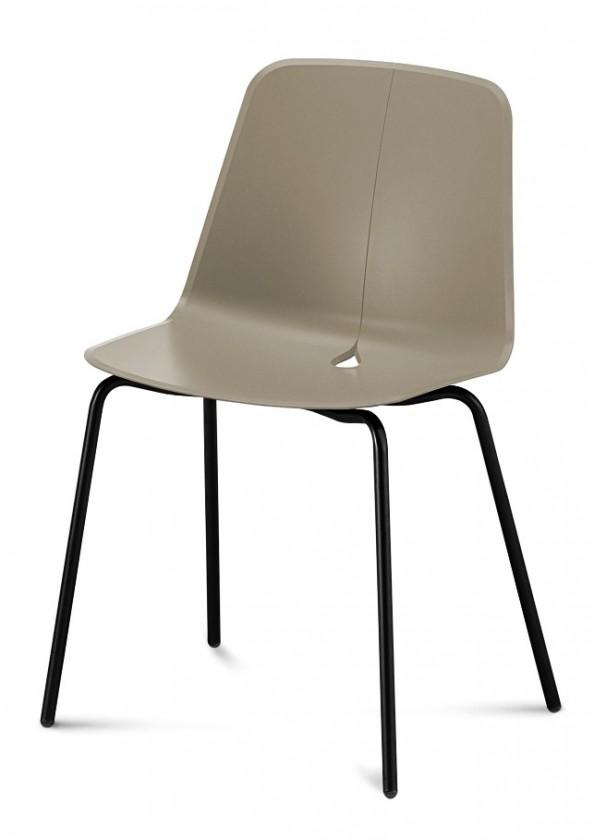 Jídelní židle Dot-M - Jídelní židle (černá, písková)