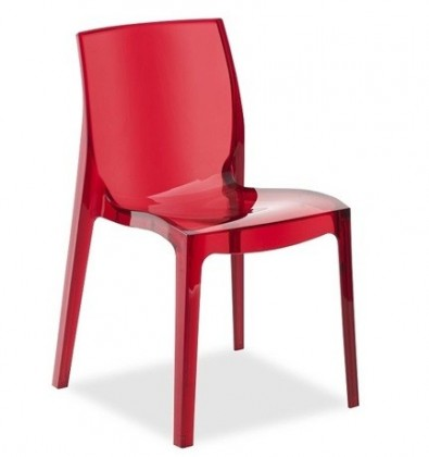 Jídelní židle Femme Fatale (červená)