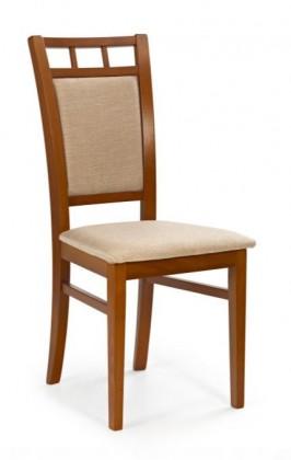 Jídelní židle Franco  (béžová casilda bez, třešeň antik)