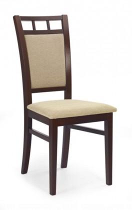 Jídelní židle Franco  (béžová torent beige, ořech tmavý)