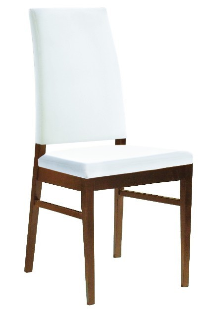 Jídelní židle Genosa (čokoládový jasan,bílá)