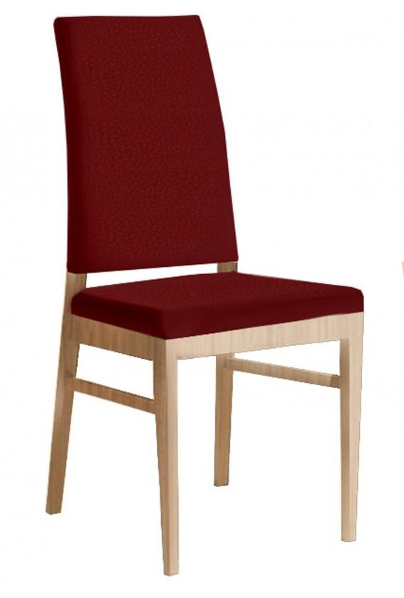 Jídelní židle Genosa  (dub/carabu karmínová)