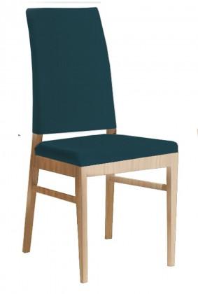 Jídelní židle Genosa  (dub/navara petrolejová)
