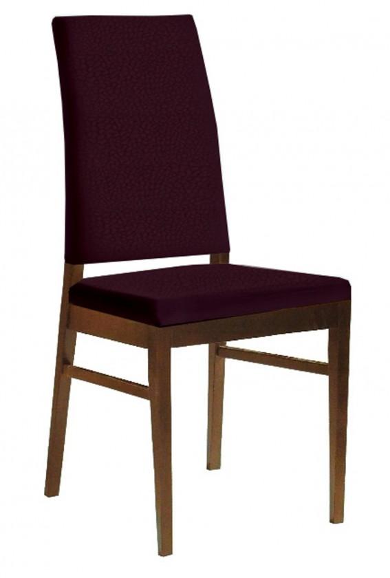 Jídelní židle Genosa  (jasan/carabu fialová)