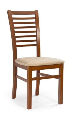 Jídelní židle Gerard 6 (třešeň,látka béžová)