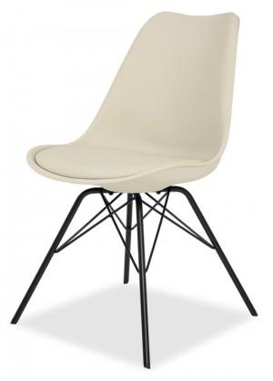 Jídelní židle GINA 9301-883+PORGY 9316-824 (béžová,černá)