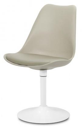 Jídelní židle GINA 9301-883+TRUMPET 9341-801 (béžová,bílá)