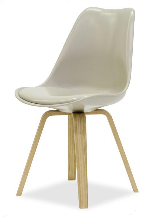Jídelní židle GINA 9361-883+ELLA 9348-054 (béžová,dub)