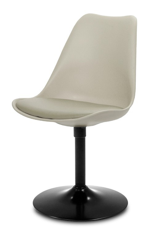 Jídelní židle GINA 9361-883+TRUMPET 9341-824 (béžová,černá)