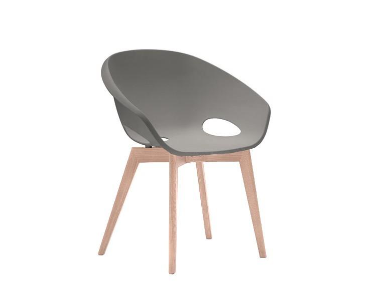 Jídelní židle Globe-LG - Jídelní židle (bělený dub, písková)