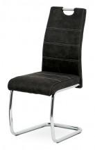 Jídelní židle Grama černá/chrom