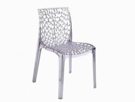 Jídelní židle Gruvyer - Jídelní židle (čirá)