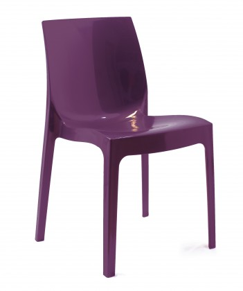 Jídelní židle Ice(melanzana)