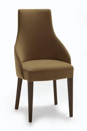 Jídelní židle Isabela (wenge/látka carabu hnědá)