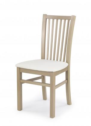 Jídelní židle Jacek - Jídelní židle (bílá, dub sonoma)